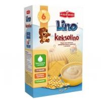 Keksolino каша пшеничная молочная с печеньем