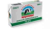 Масло Альпийская Коровка спред 72,5%