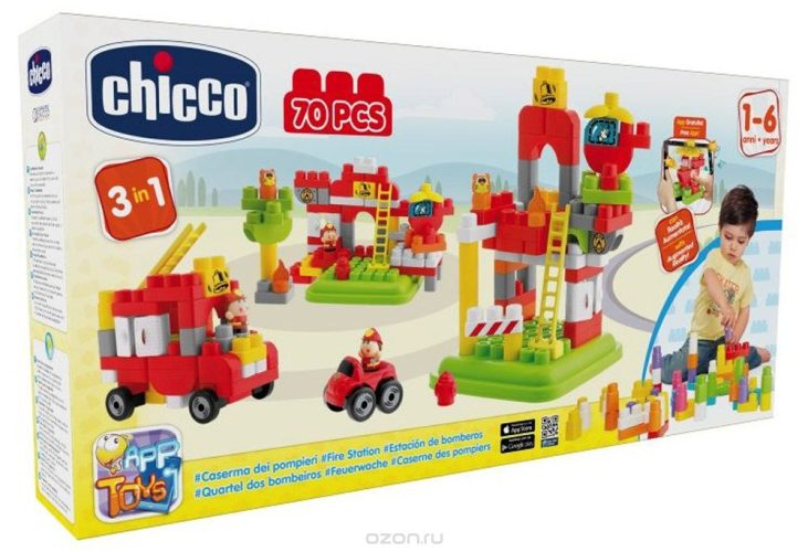 Chicco Пожарная станция