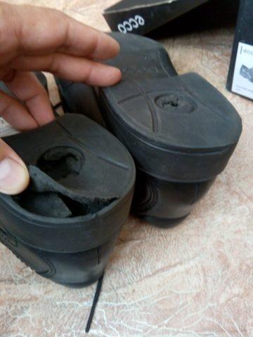 Новая обувь ECCO СТАРЕЕТ со временем