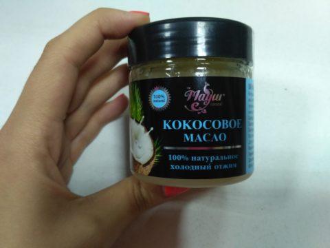 Натуральное кокосовое масло — Mayur