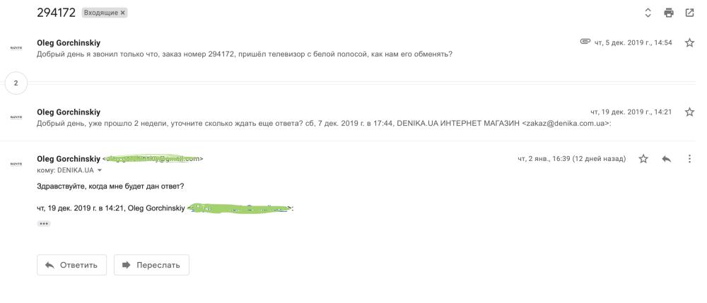 Ужасная компания Denika.ua