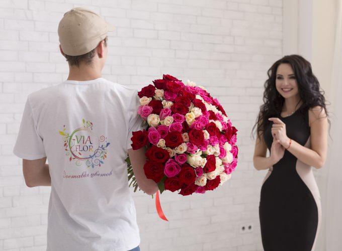 Доставка цветов в Харькове от Viaflor