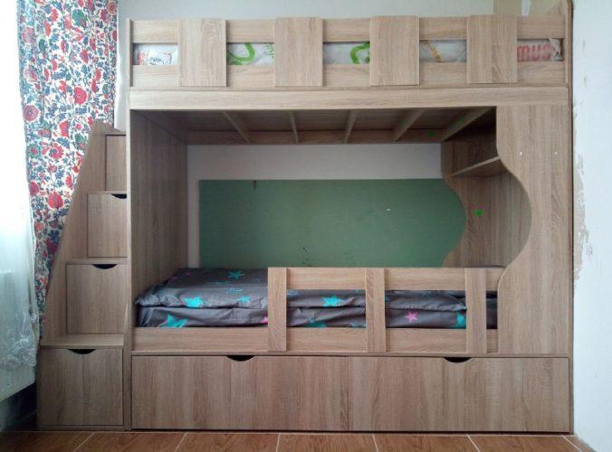 Mebility двухьярусная кровать