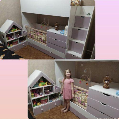 кроватка и домик